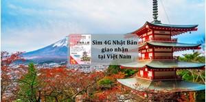 Hình của Sim 4G Nhật Bản giao nhận tại Việt Nam