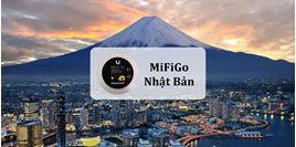 Hình của Bộ phát wifi Nhật Bản MiFiGo giao nhận tại Việt Nam