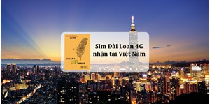 Hình của Sim Đài Loan 4G (Taiwan tourist sim card) nhận tại Việt Nam