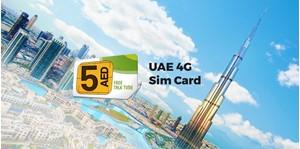 Hình của Sim 4G UAE Dubai (nhận tại sân bay Dubai)