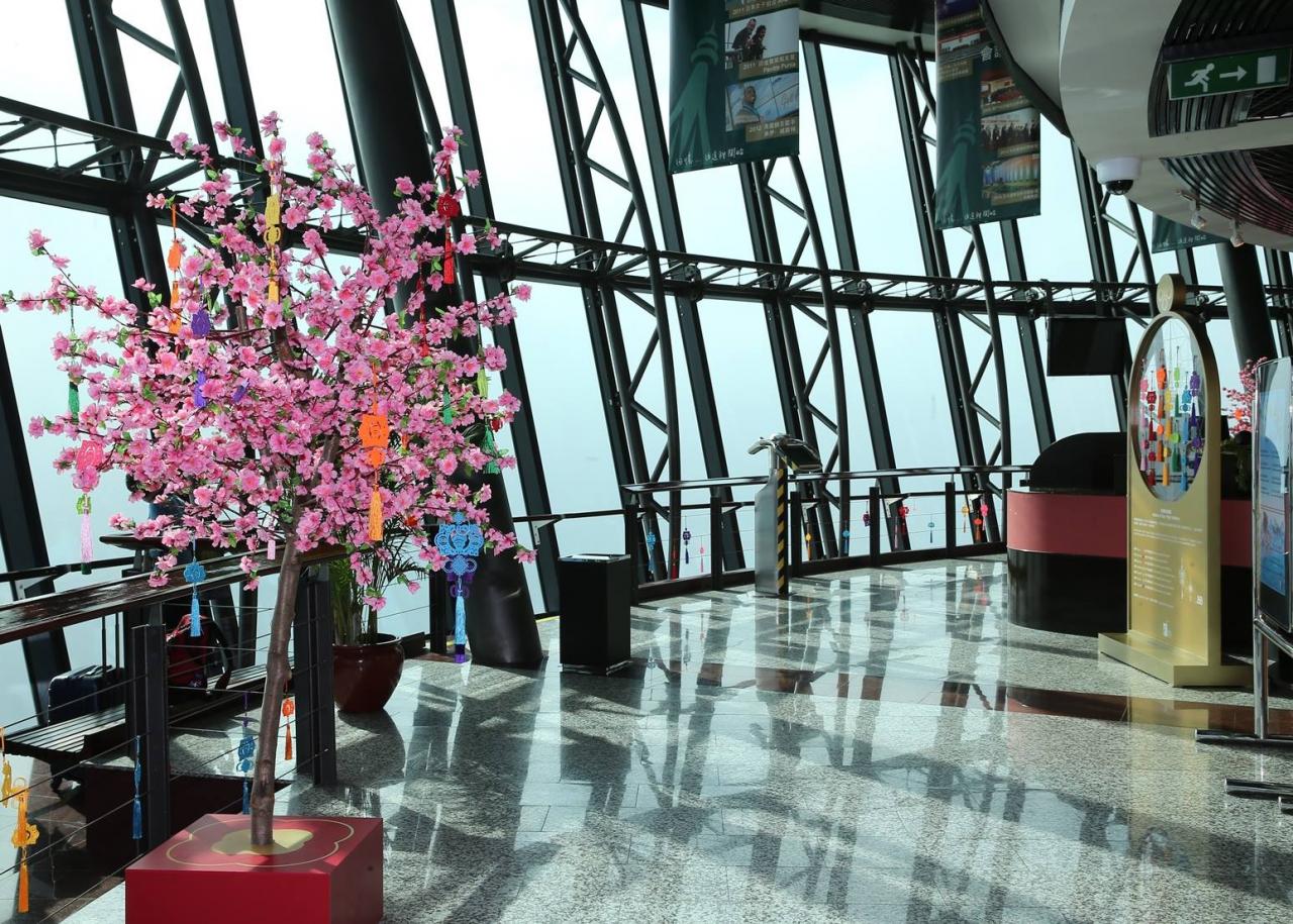 360° Café tại tháp Macau