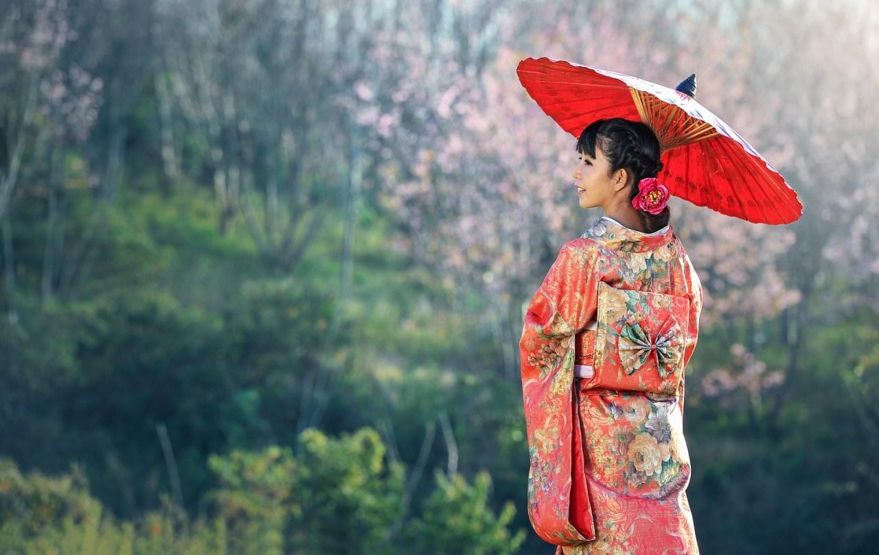 Thuê kimono ở Okinawa