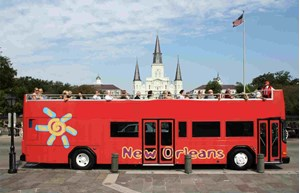 New Orleans Hop-on & Hop-off Bus