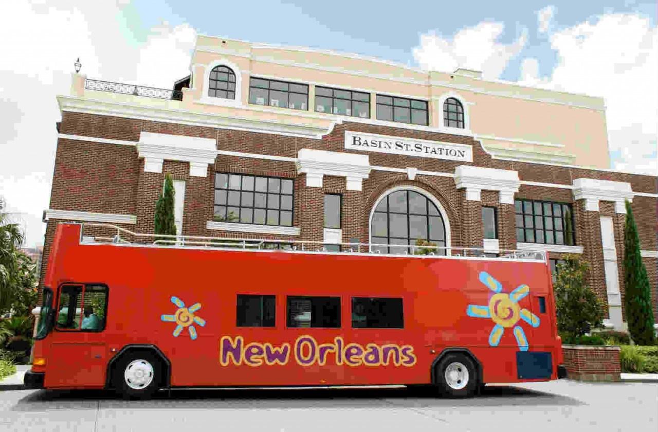 New Orleans Hop-on & Hop-off Bus