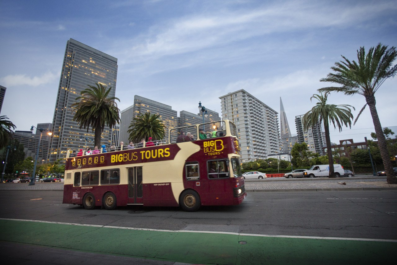 San Francisco Hop-on & Hop-off Bus by Big Bus