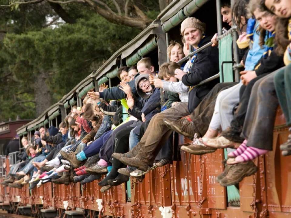 Tour đi tàu lửa Puffing Billy, khởi hành từ Melbourne