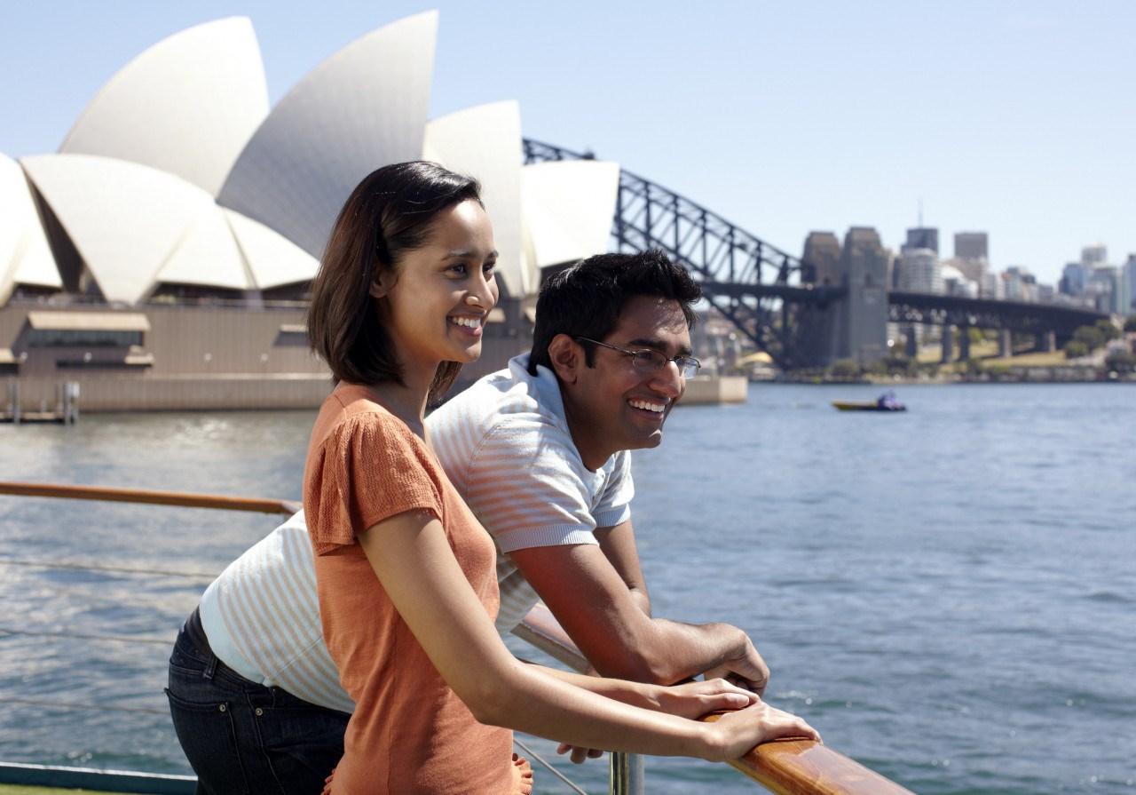 Tour đi thuyền tại cảng Sydney