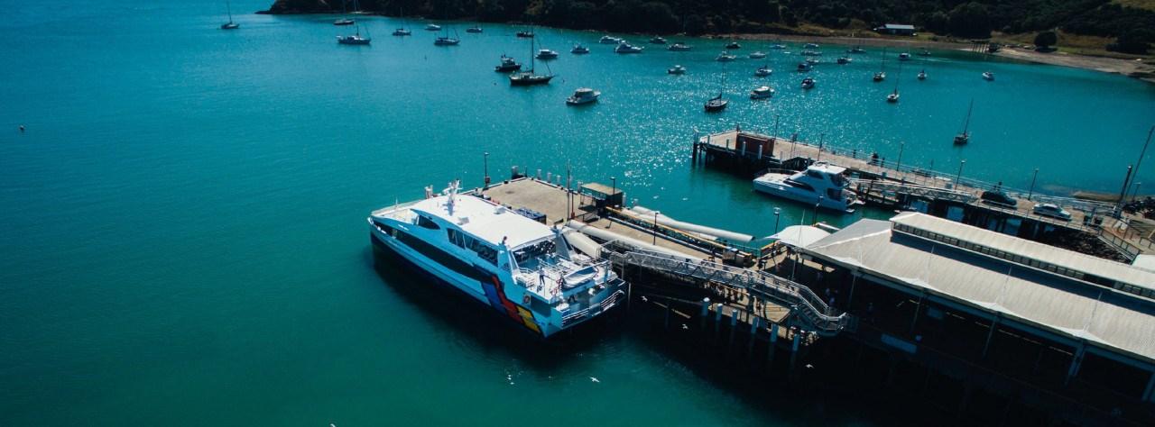 Vé đi phà giữa Auckland và đảo Waiheke