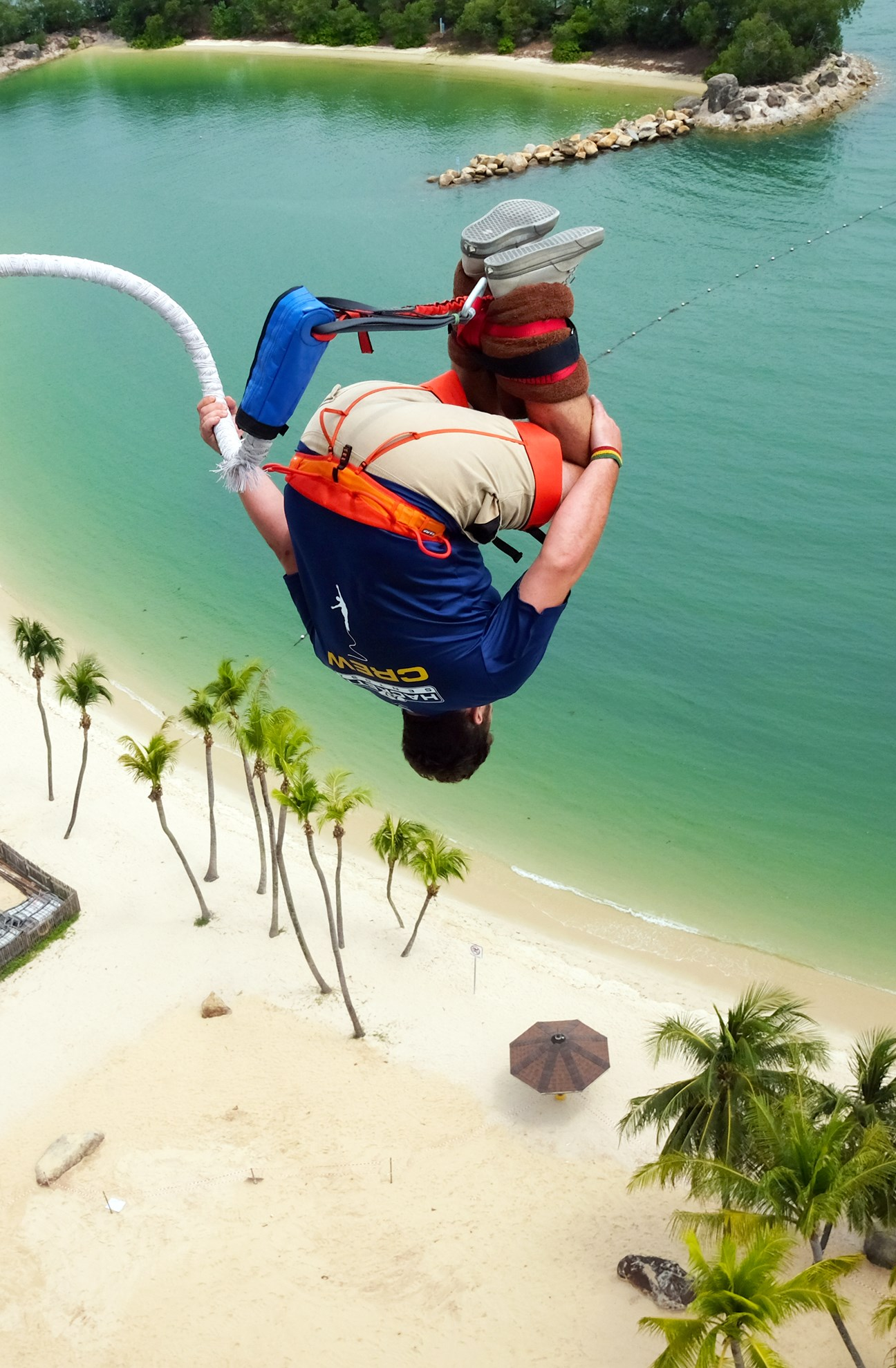 AJ Hackett Sentosa: Nhảy Bungy, Giant Swing và Skywalk