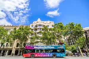 Barcelona Hop-on & Hop-off Bus