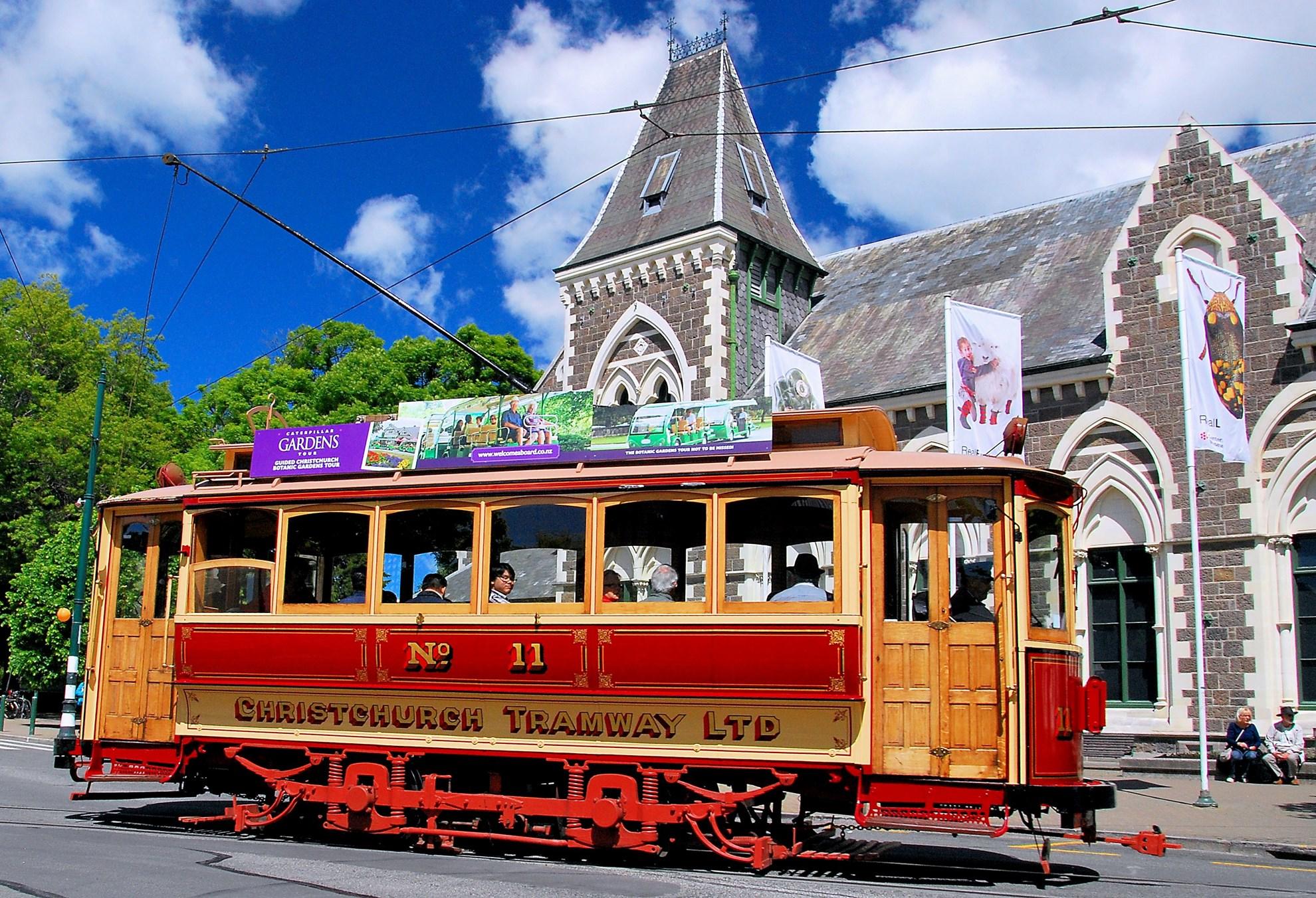 Christchurch Tram Day Pass