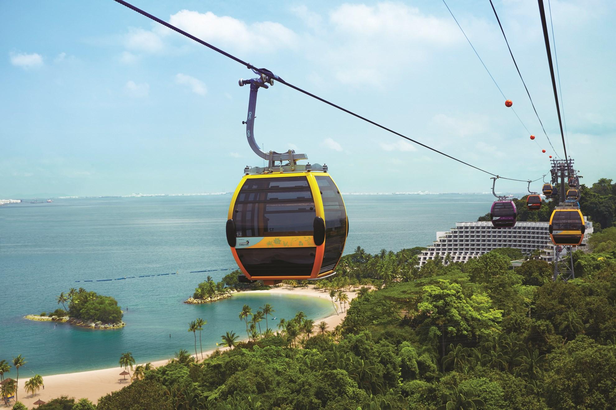 COMBO: Bảo tàng Trick Eye Singapore + Cáp treo Singapore Cable Car Sky Pass