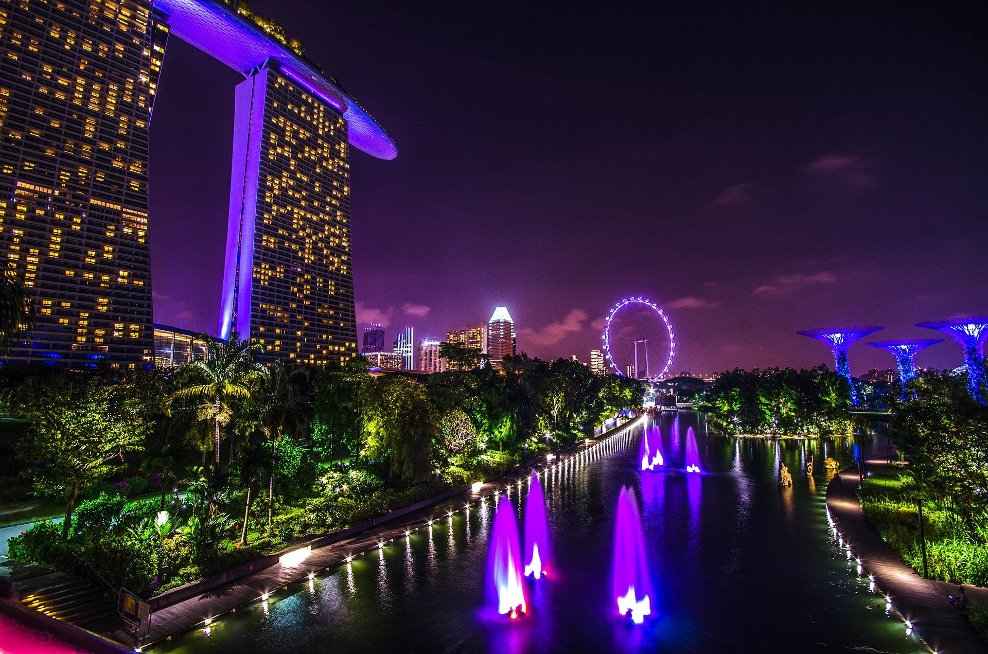COMBO: Gardens by the Bay + Đài quan sát Marina Bay Sands SkyPark
