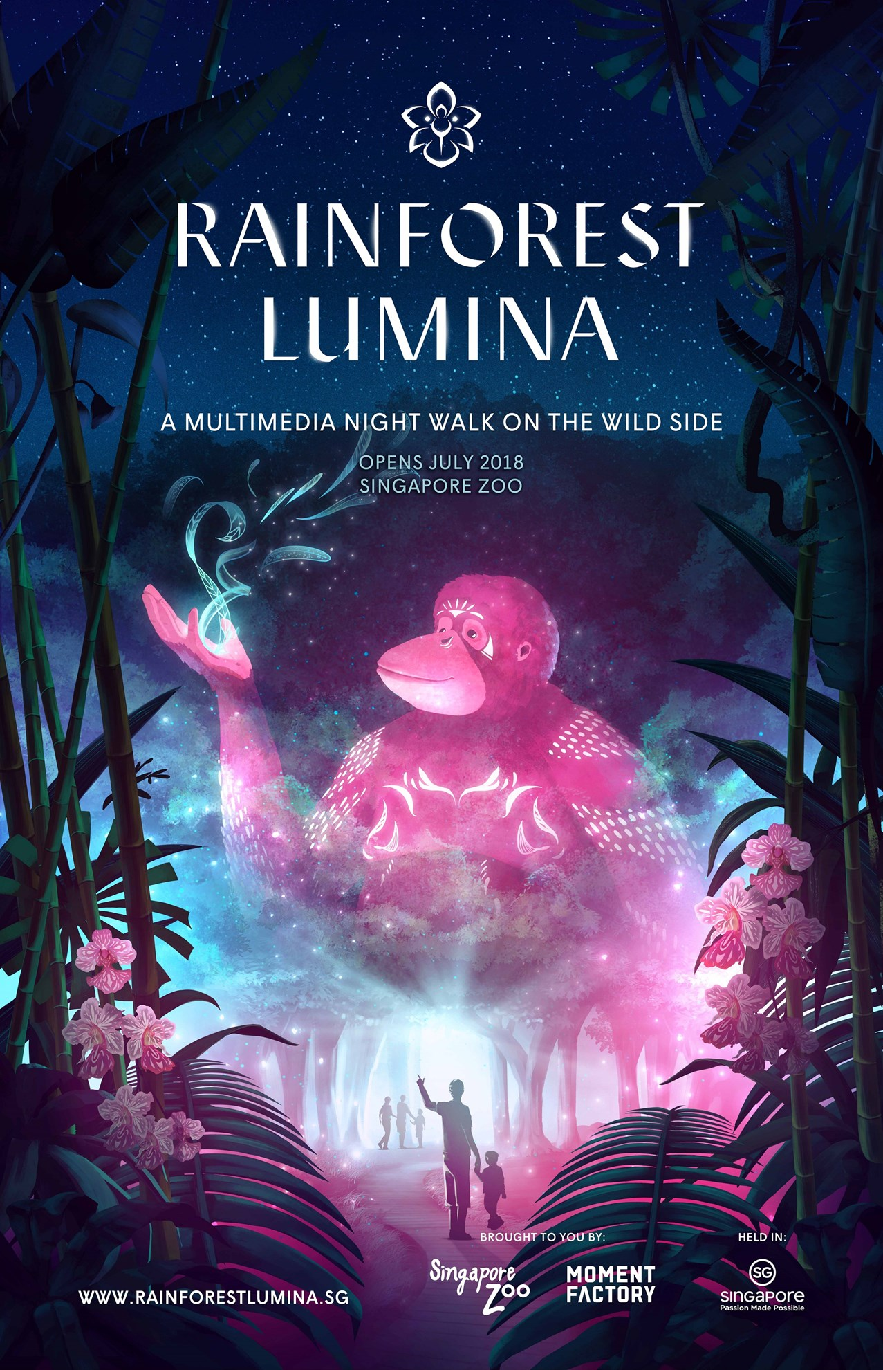 COMBO: Rainforest Lumina + Singapore Night Safari