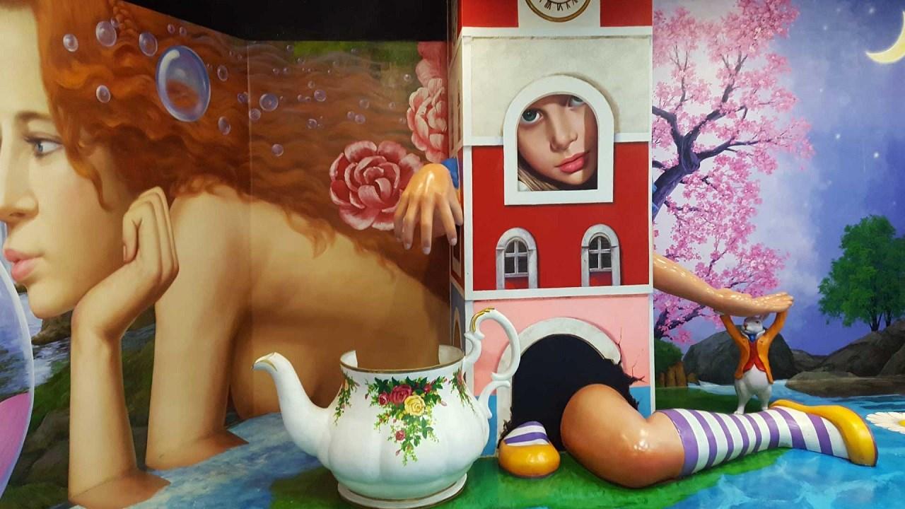 COMBO: Sentosa 4D AdventureLand + Bảo tàng Trick Eye Singapore