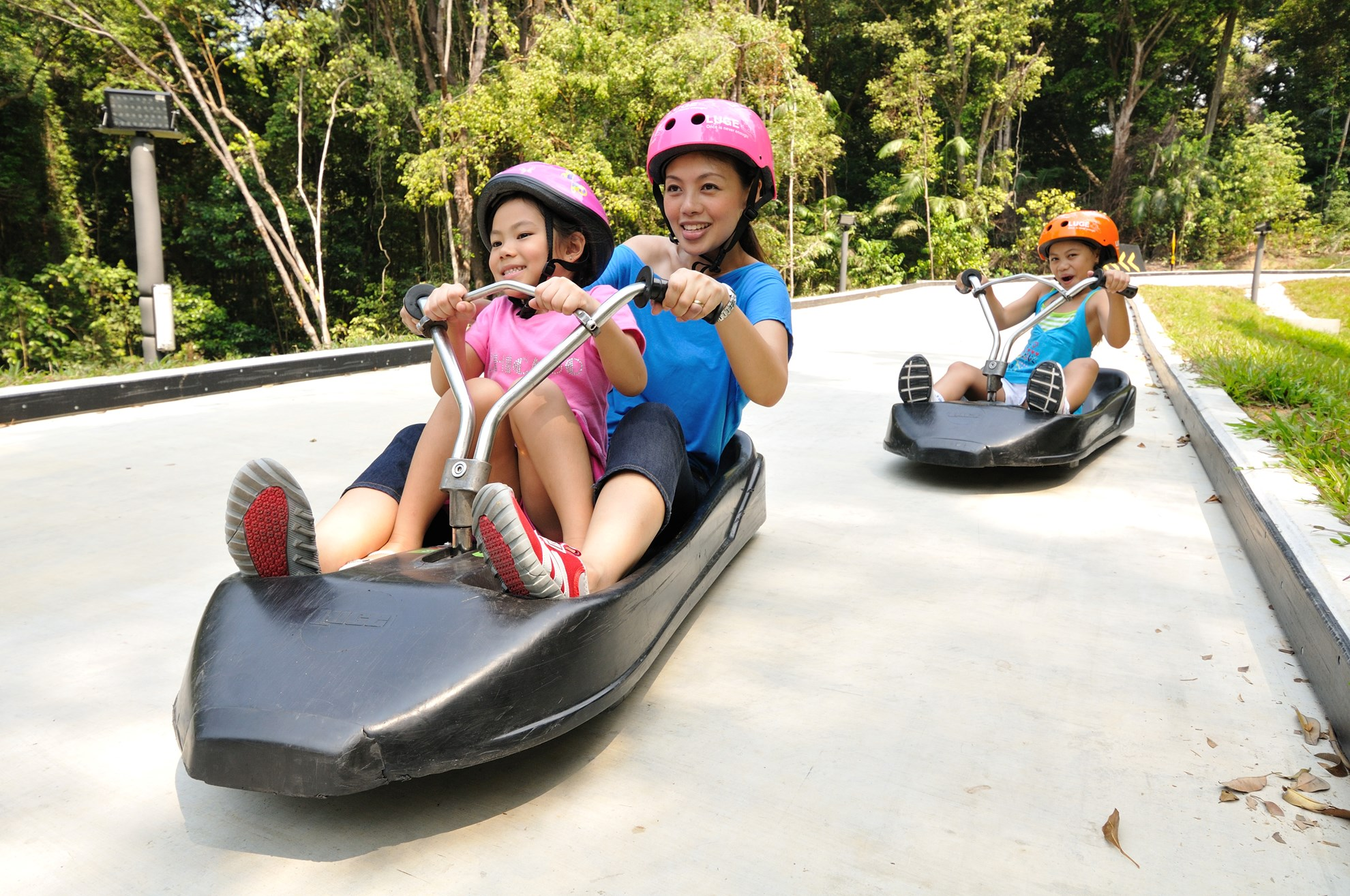 COMBO: Thẻ Singapore Tourist Pass PLUS + Vé Skyline Luge Sentosa