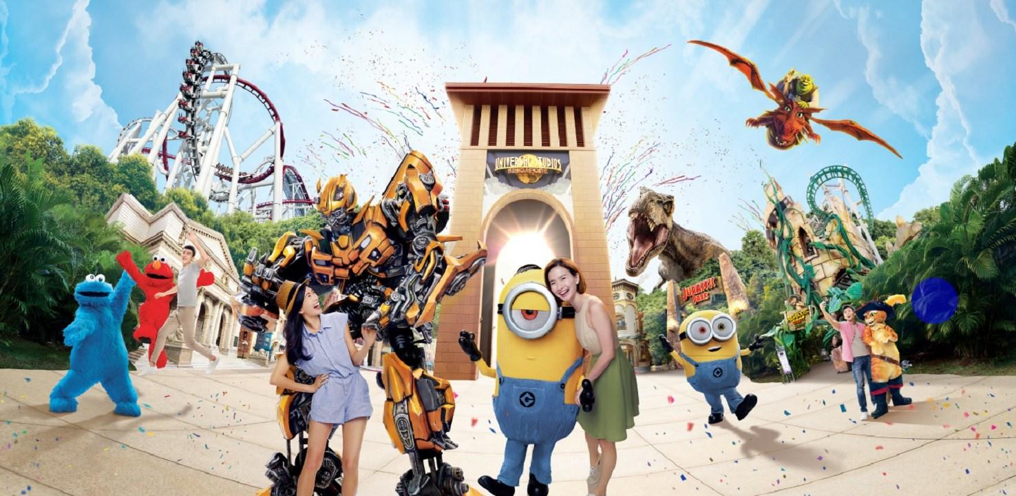COMBO: Universal Studios Singapore™ + Sentosa FUN Pass Tokens