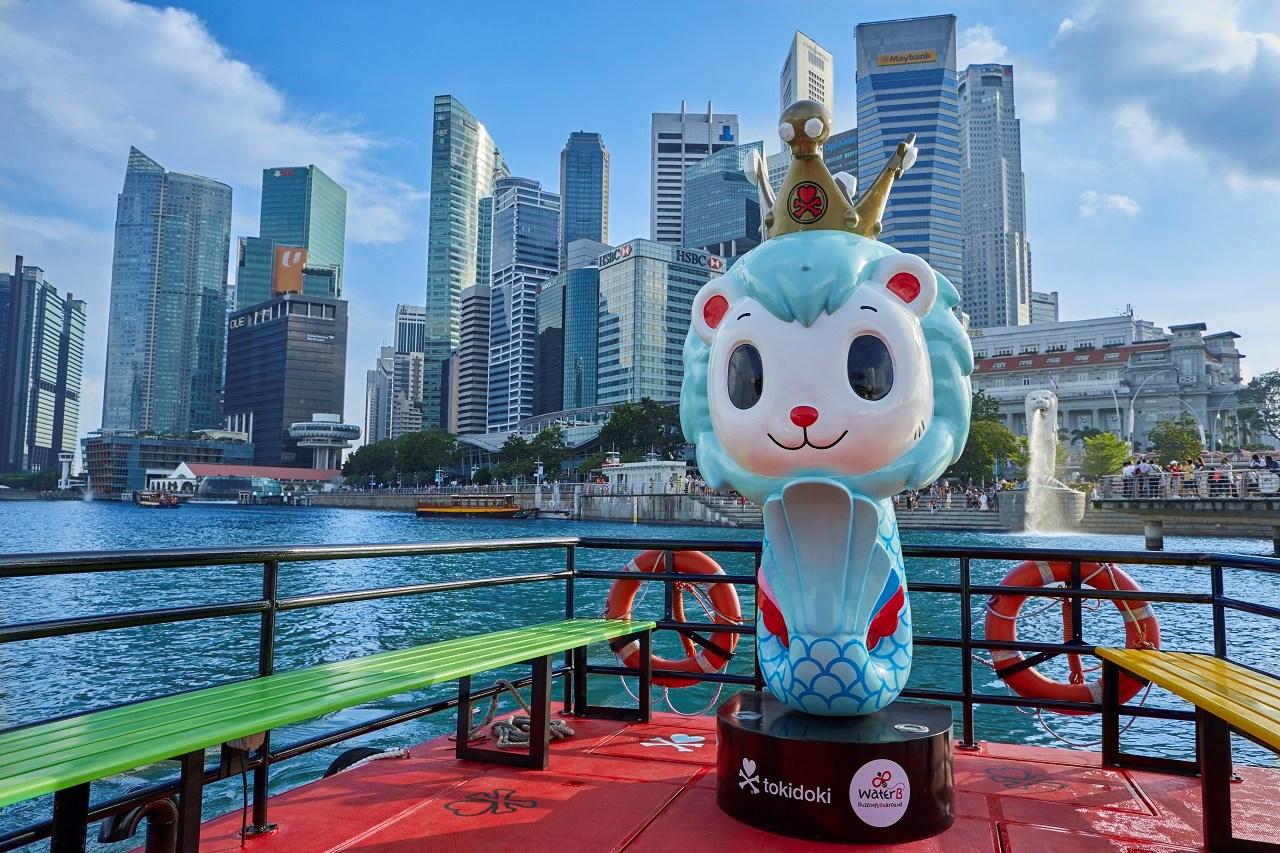 Du ngoạn trên sông Singapore bằng tàu WaterB