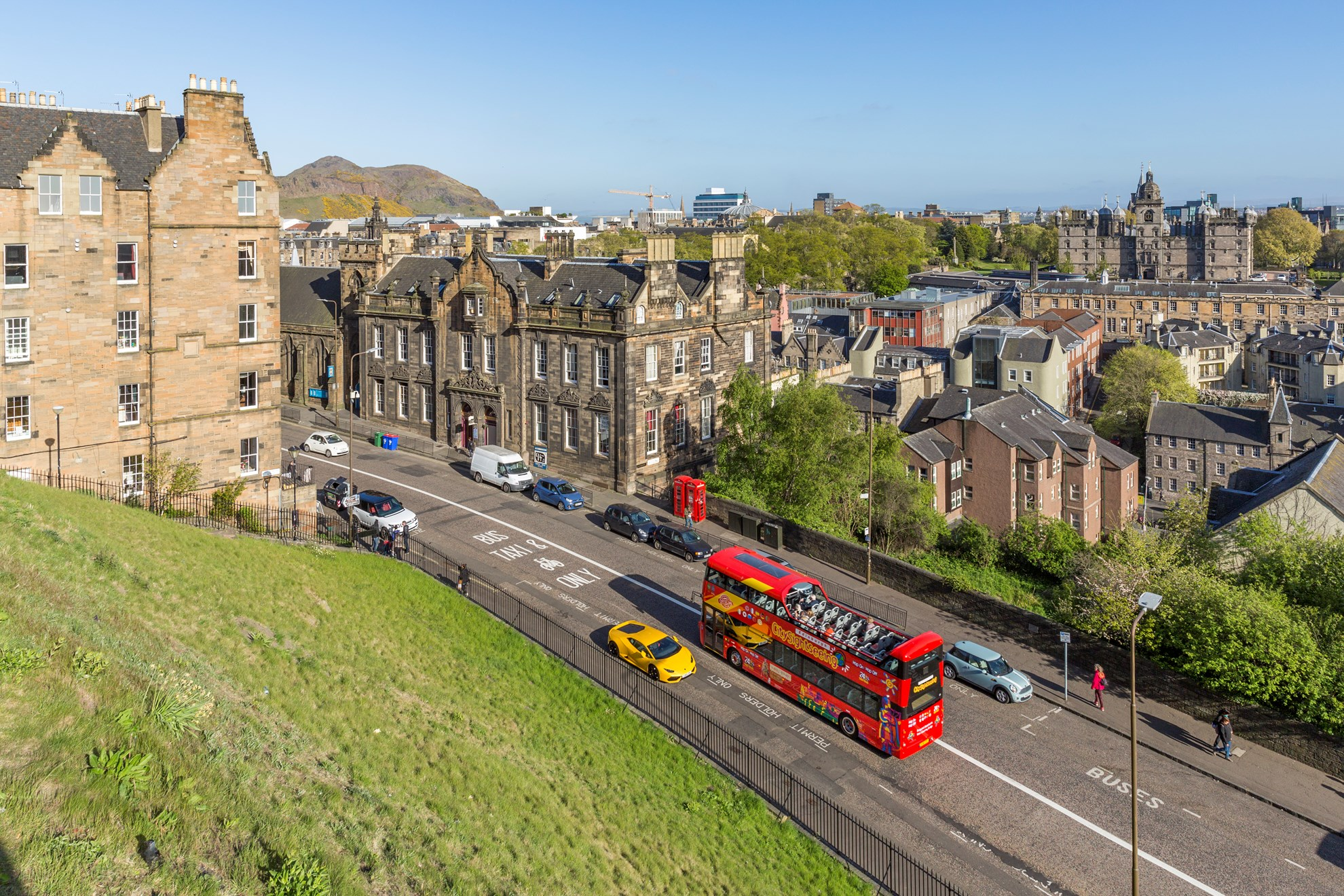 Edinburgh Hop-on & Hop-off Bus