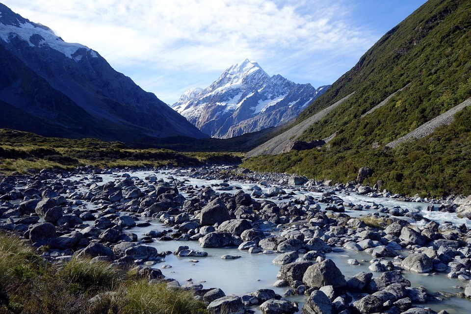 Full-day Mt Cook Tour