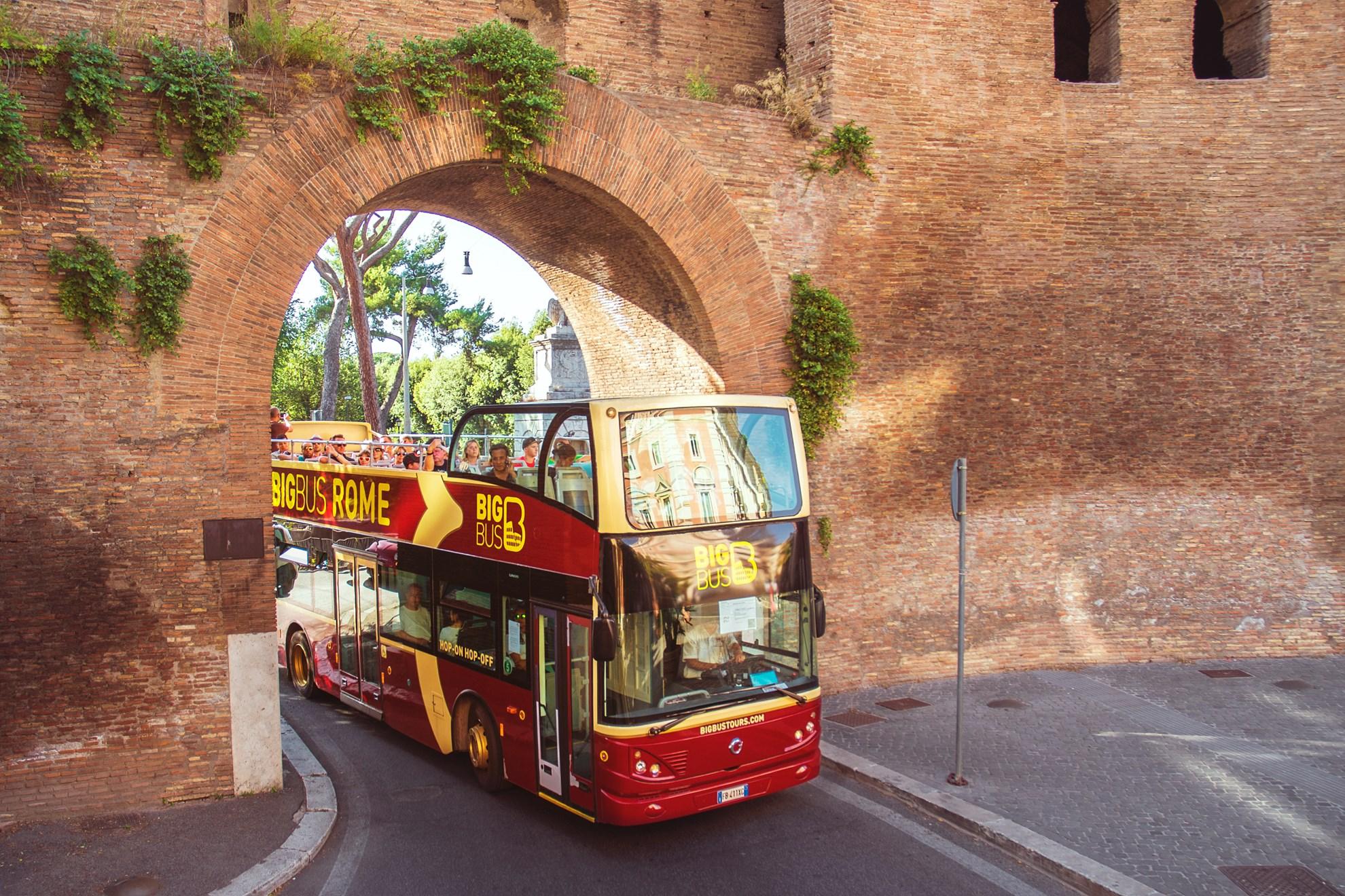 Rome Hop-on & Hop-off Bus