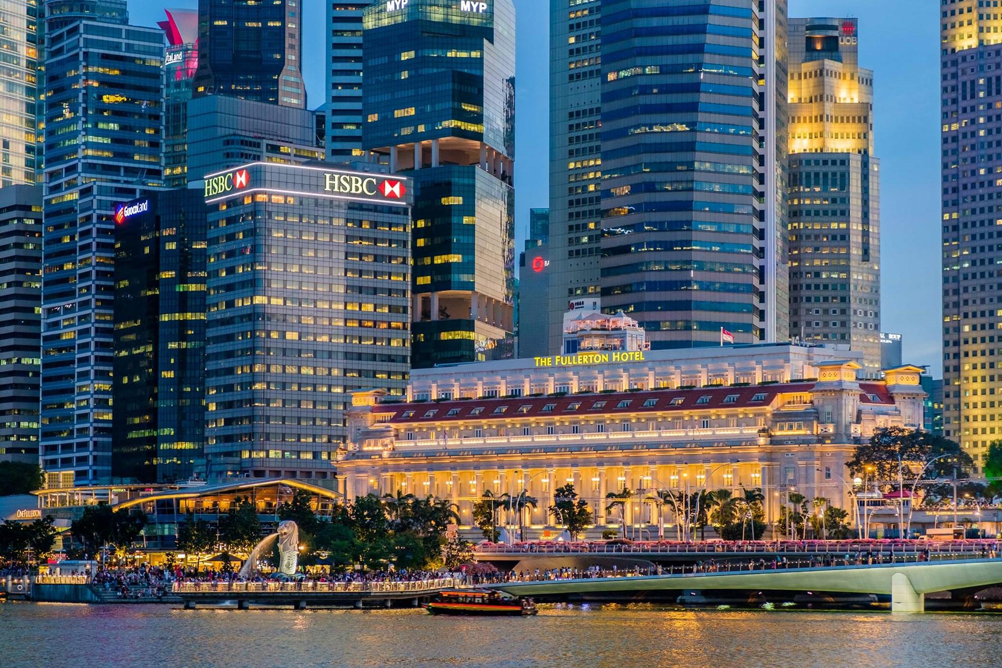 Tour đi thuyền trên sông Singapore và thưởng thức trà chiều