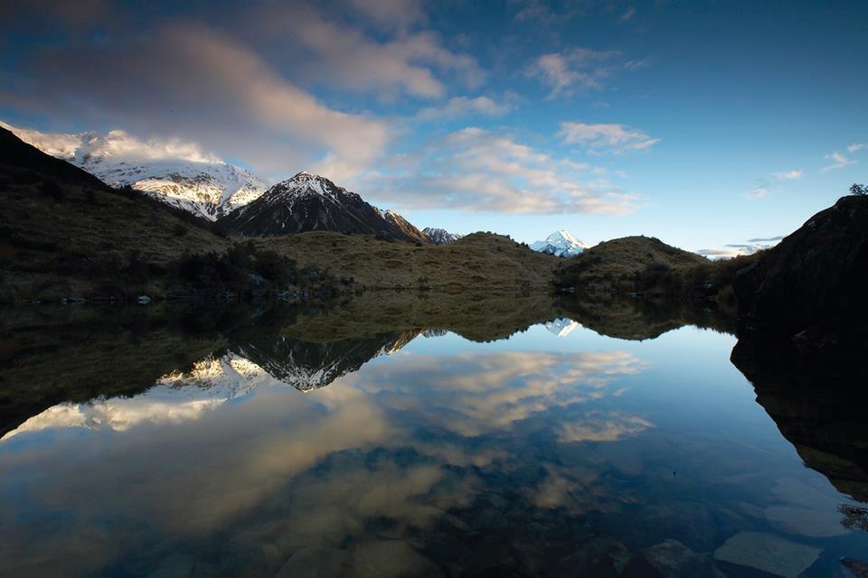 Tour ngắm cảnh từ Mount Cook đến Christchurch bằng xe Bus