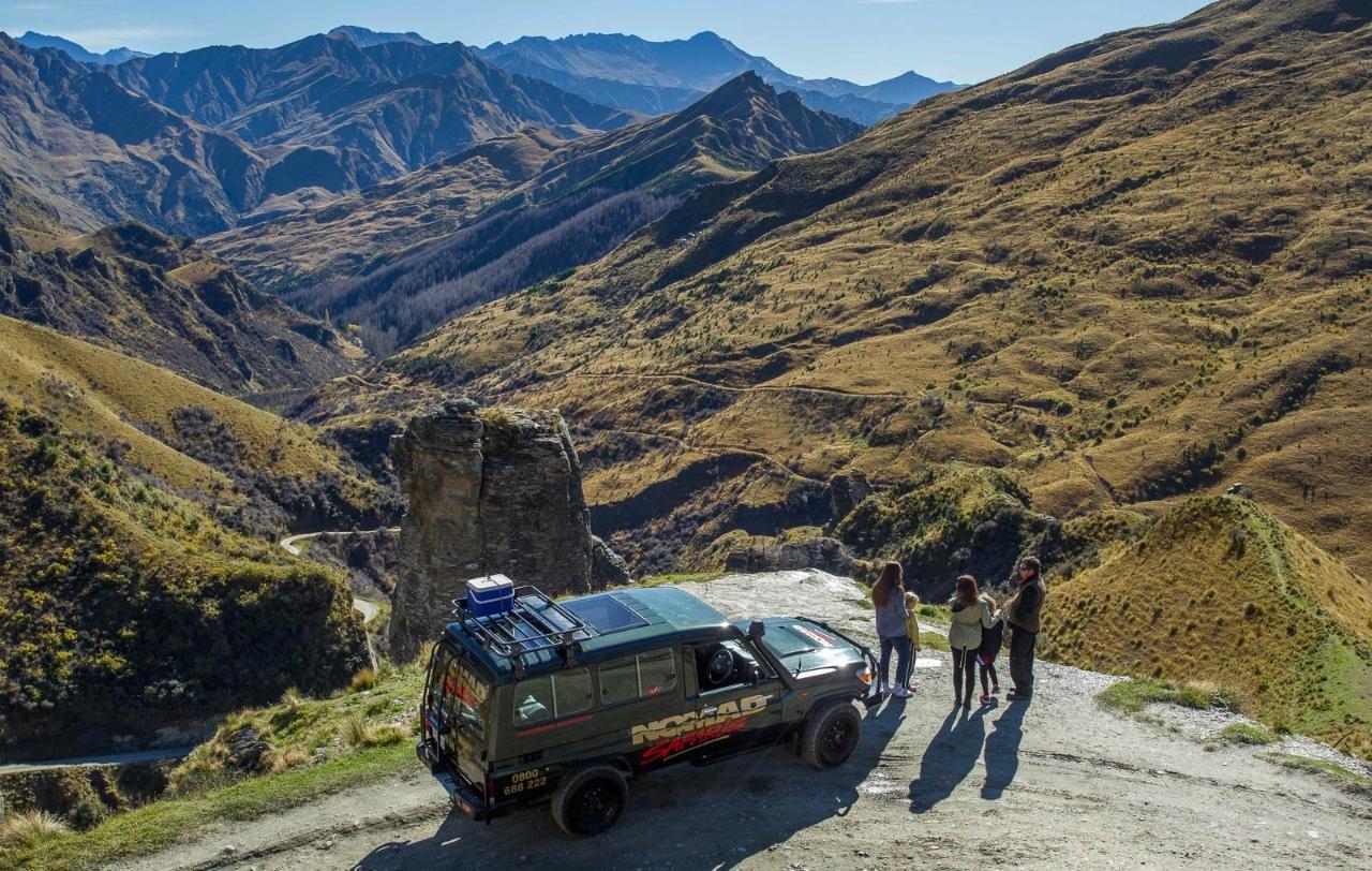 Tour tham quan các địa điểm quay phim Chúa tể của những chiếc nhẫn ở Wakatipu Basin