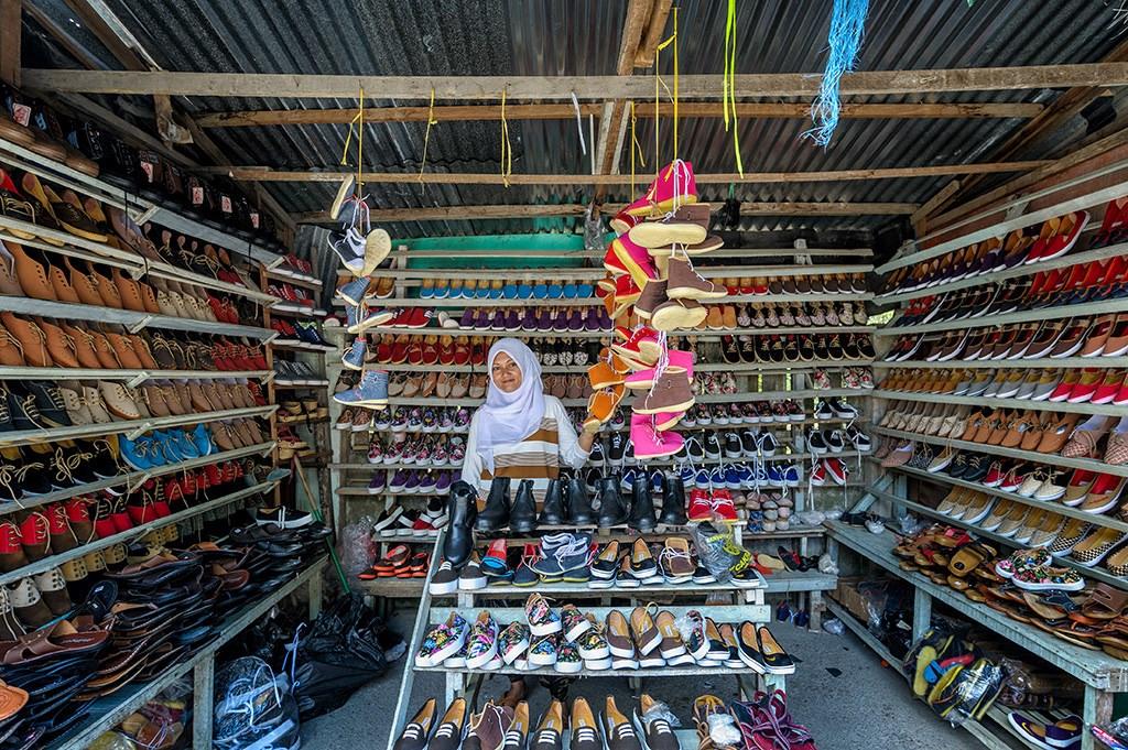 Tour Tham quan Mua sắm tại Chợ Biên giới Cuối tuần Kuching Serikin