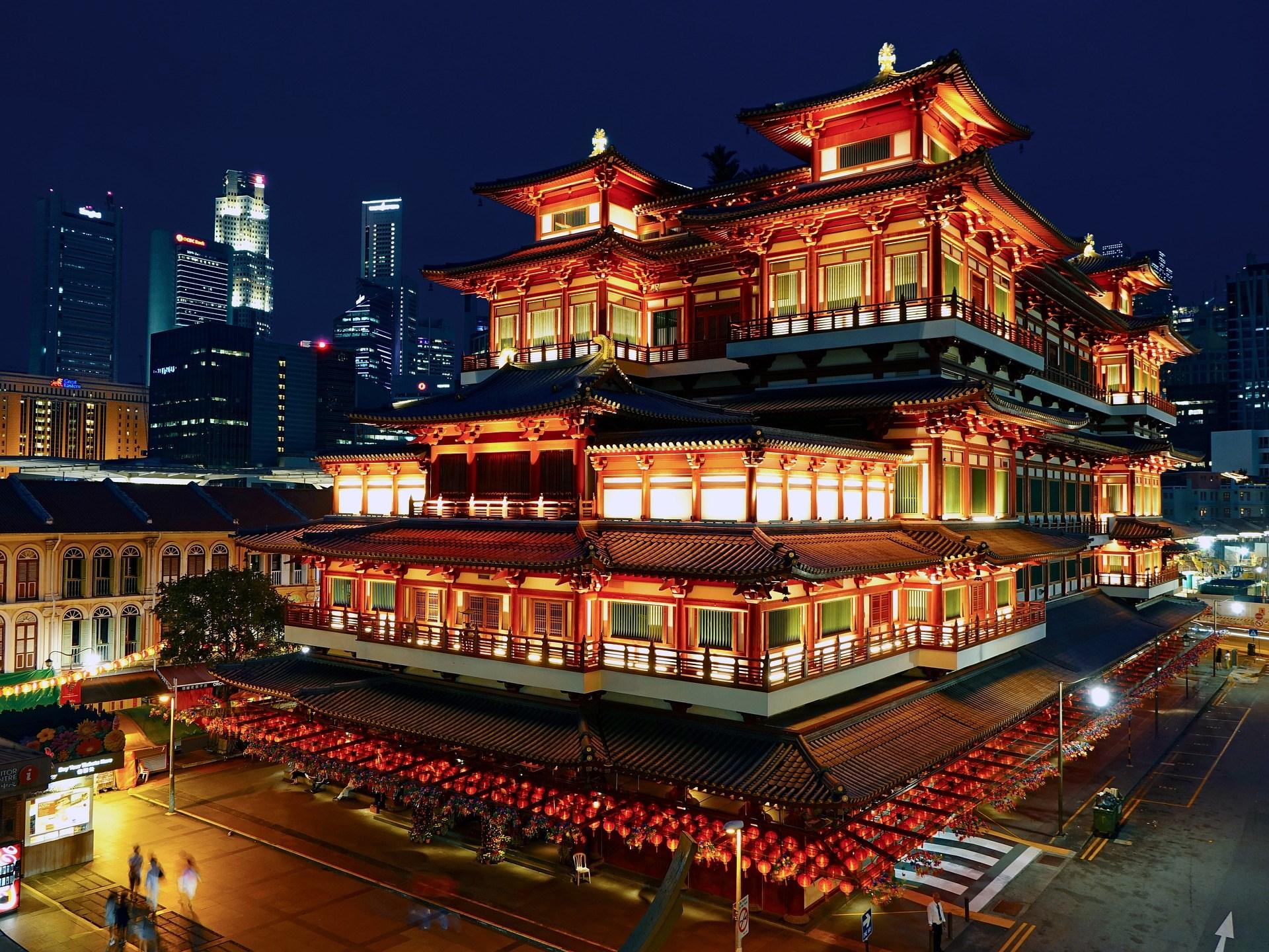 Tour tham quan Singapore vào buổi tối