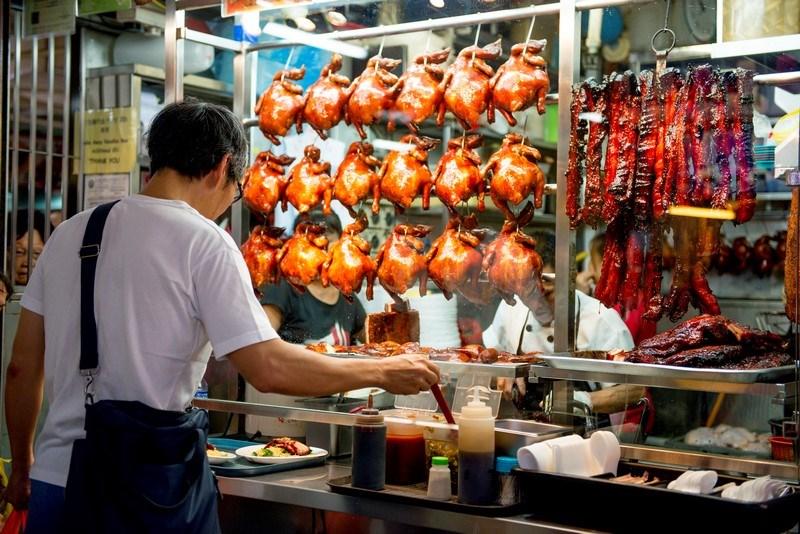 Tour trải nghiệm ẩm thực tại Chinatown Singapore
