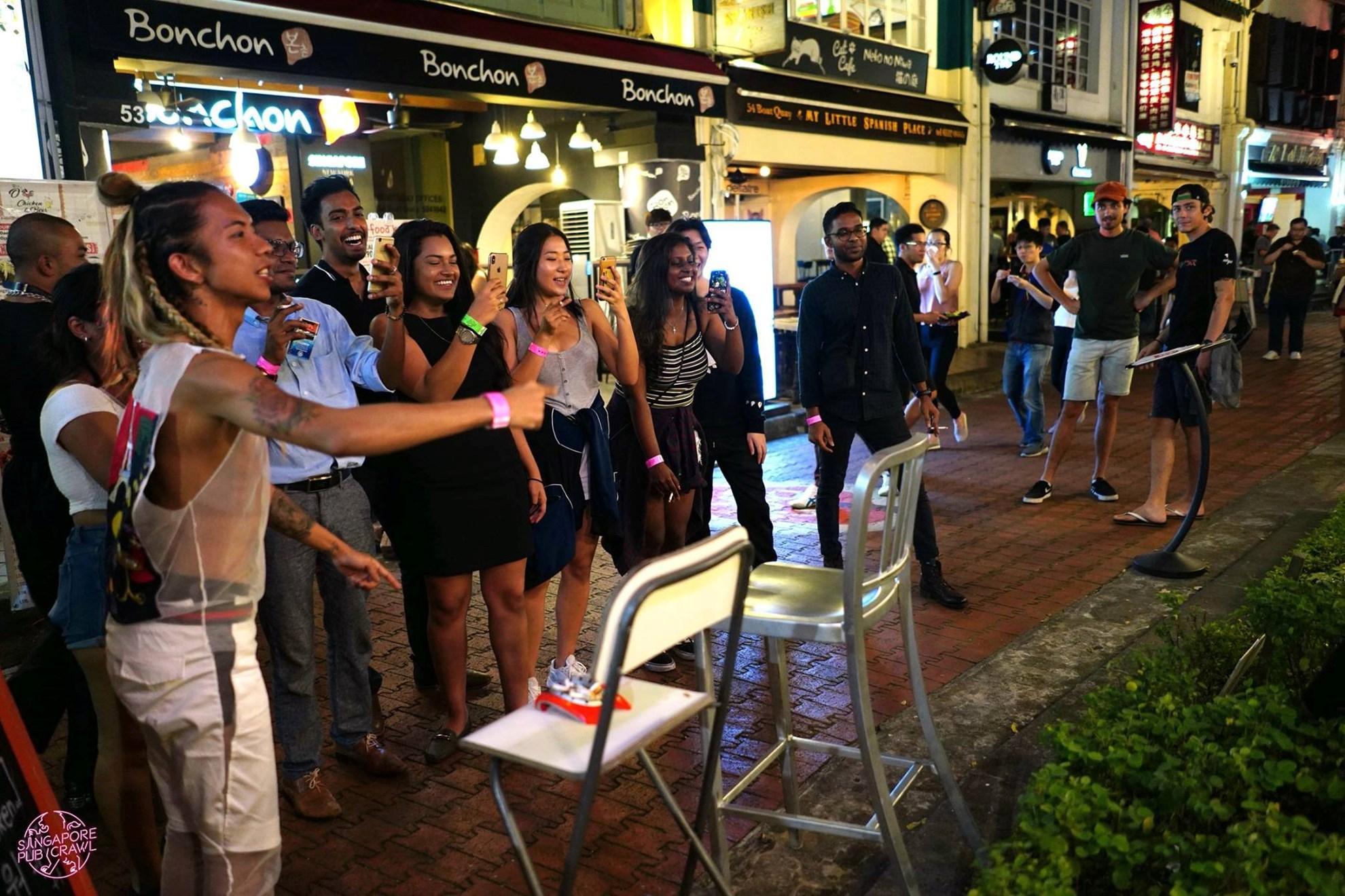 Trải Nghiệm các quán Bar ở Singapore