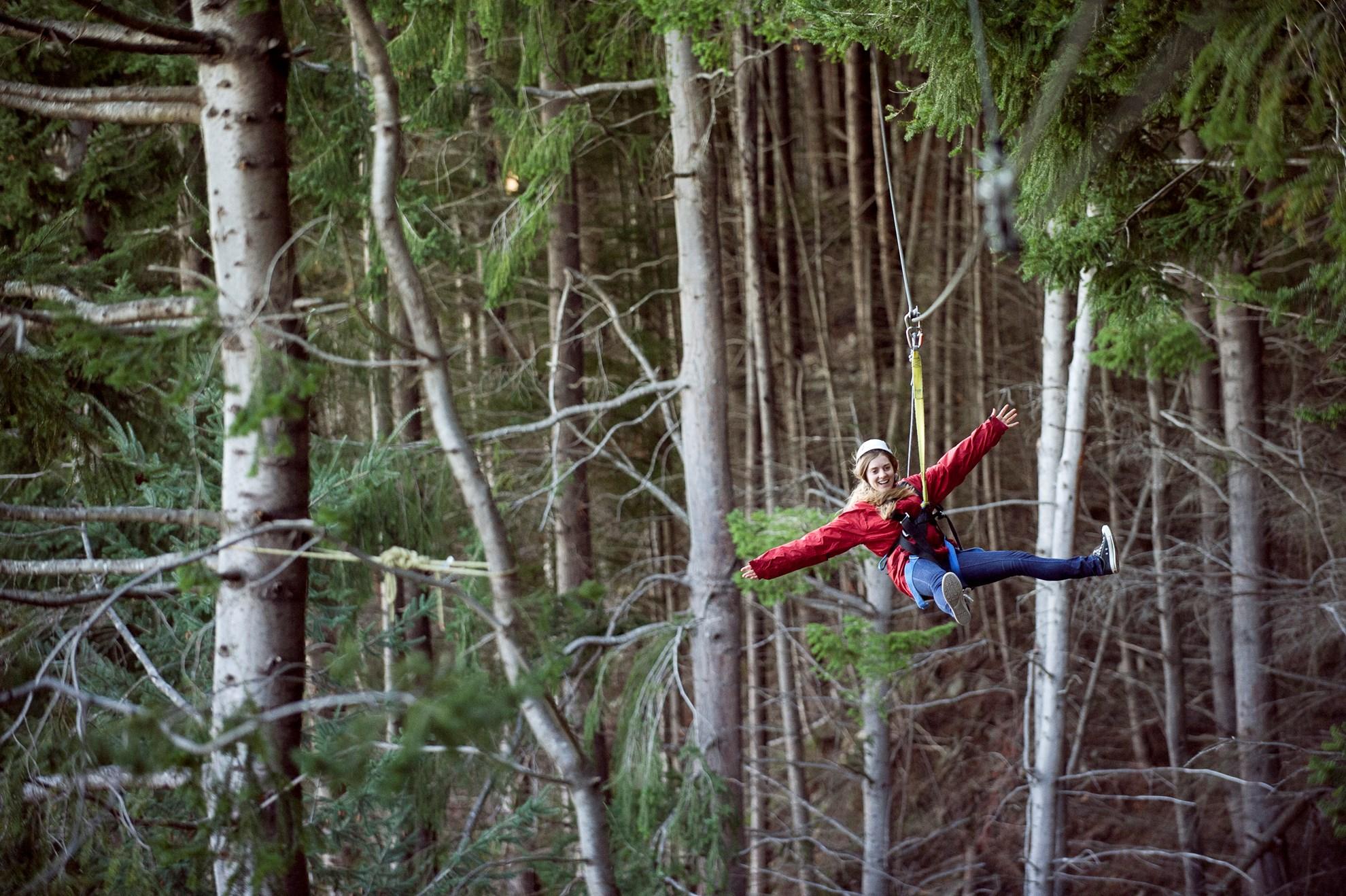 Trượt Zipline ở Queentown