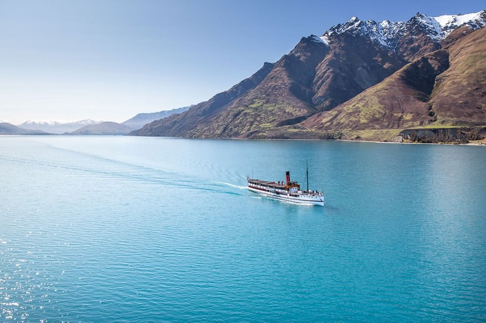 TSS Earnslaw Cruise to Walter Peak Farm with Barbecue Lunch
