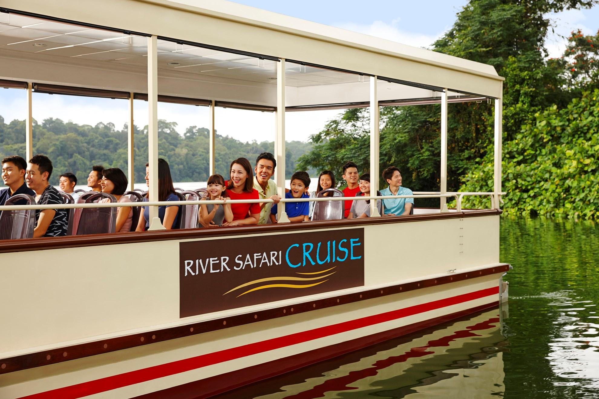 Vé  tham quan Singapore River Safari