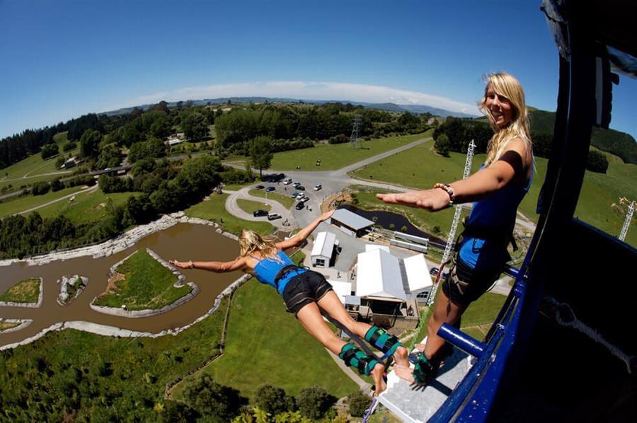 Velocity Valley - Nhảy bungy ở Rotorua (Trải nghiệm nhảy bungy đáng thử nhất New Zealand)