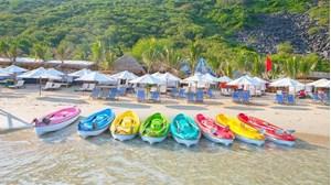 Hình của Tour 4 đảo Nha Trang- Hang Yến - Đảo Robinson - Hòn Mun - Làng Chài